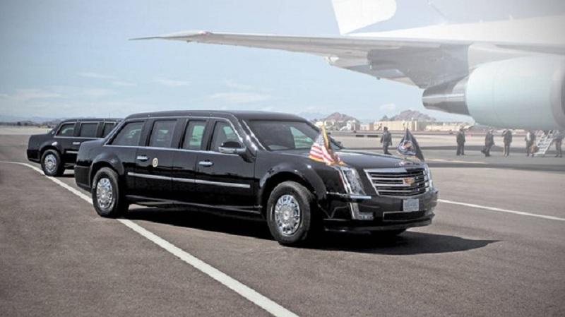 xe tổng thống mỹ