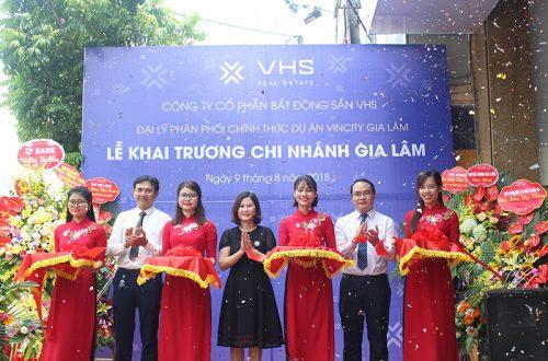 VHS Land khai trương văn phòng mới tại Gia Lâm