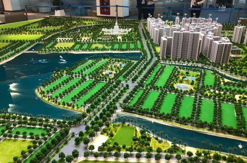 Sa bàn dự án Vincity Ocean Park Gia Lâm đã chính thức hoàn thành