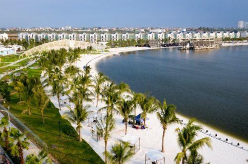 """Màn ra mắt ấn tượng của """"Thành phố biển hồ"""" giữa lòng Hà Nội"""