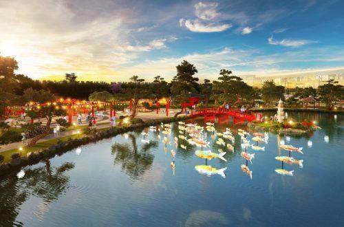 Hạ nghị sĩ Nhật ấn tượng khu vườn tại Vinhomes Smart City