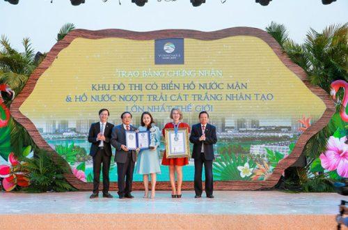 VINHOMES OCEAN PARK nhận liên tiếp kỷ lục thế giới và kỷ lục Việt Nam