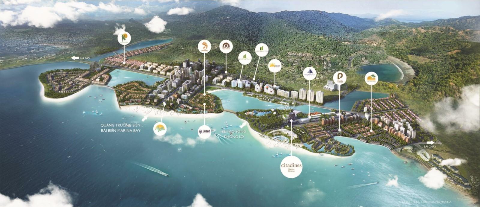 vị trí dự án citadines