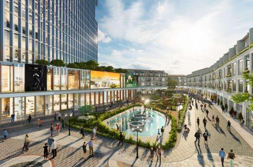 Ecopark triển khai tuyến phố đi bộ trong đô thị tỷ đô la ở Hải Dương