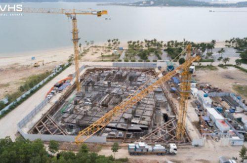 Dự án À La Carte Halong Bay đảm bảo đúng tiến độ xây dựng
