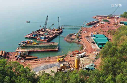 Hàng loạt các công trình thi công tại Hạ Long chào Xuân 2021