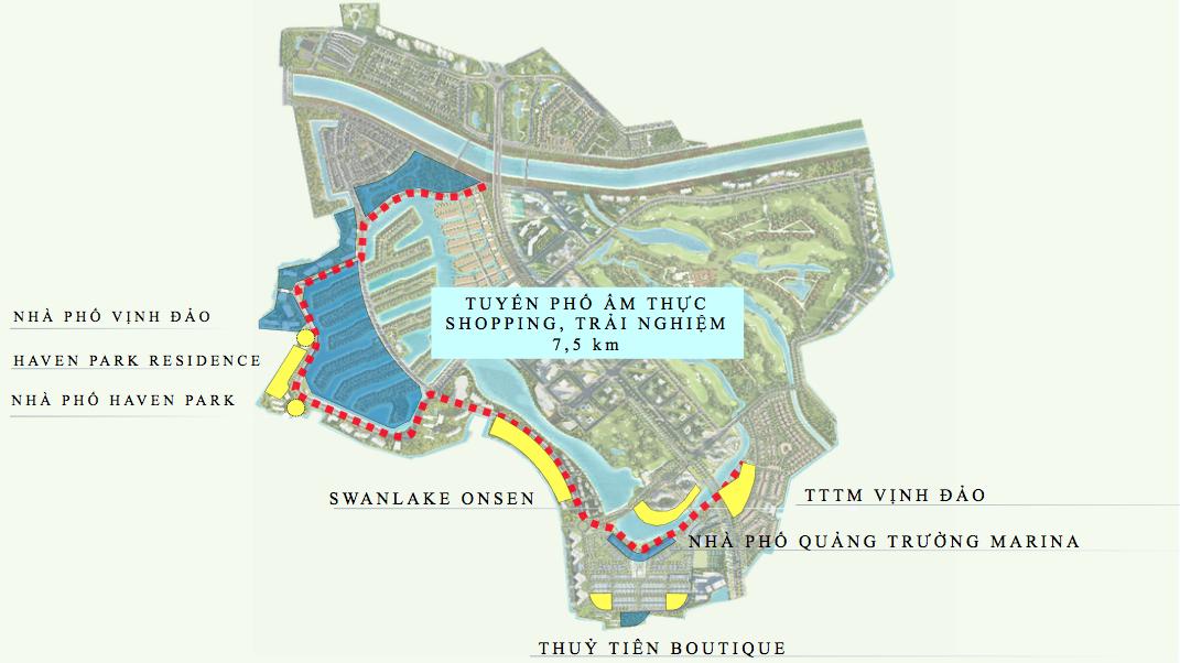 Vị trí dự án Haven Park Residences