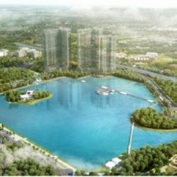 Vinhomes Skylake sở hữu không gian sống xanh dương độc nhất giữa trung tâm hành chính mới của Thủ đô.